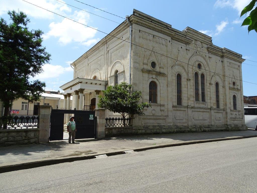 בית הכנסת בקוטיסאי. הרצל אברהם