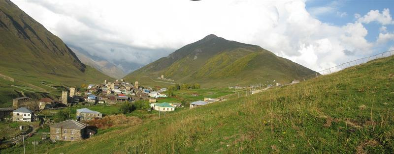 נוף כפרי בגיאורגיה