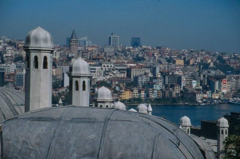 תצפית על איסטנבול צילמה: רותי אמנו