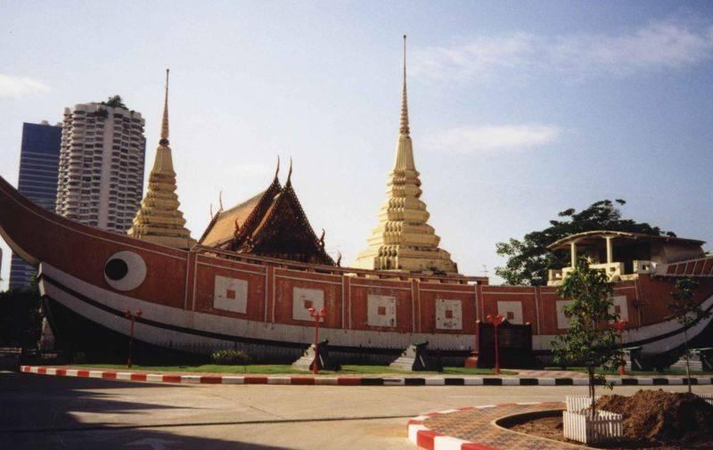 מקדש בתאילנד, צילום באדיבות וויקימדיה, רשיון GNU