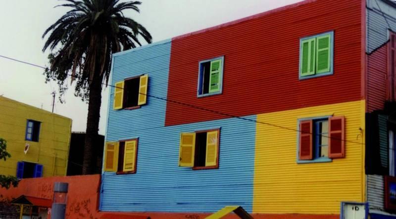 בתים צבועים בלה בוקה, בואנוס אייריס