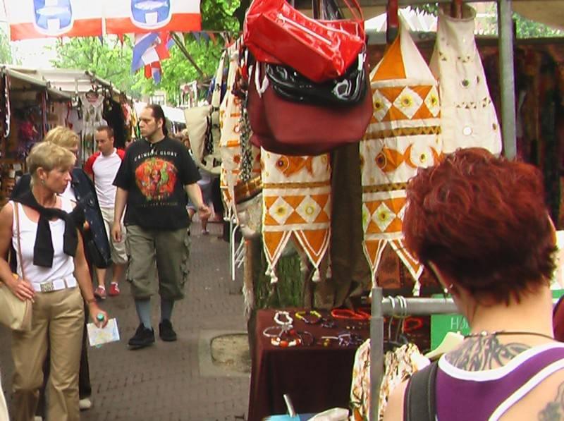 קניות ושווקים באמסטרדם - הולנד