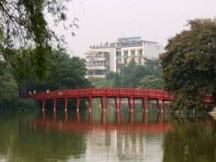 גשר יפני בהאנוי. באדיבות נופר  נופש וטיולים
