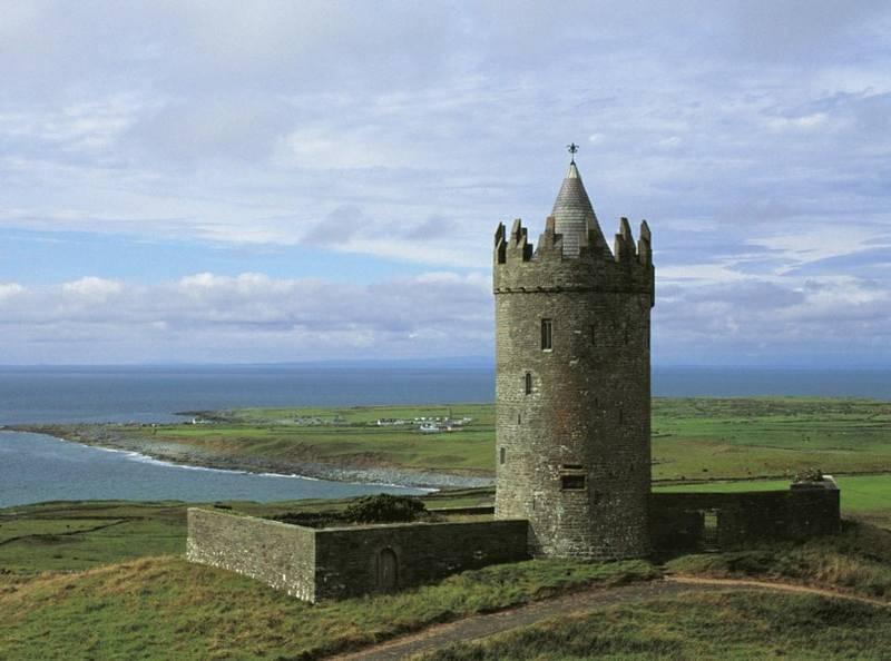 מבצרים וטירות. צילום: Tourism Ireland
