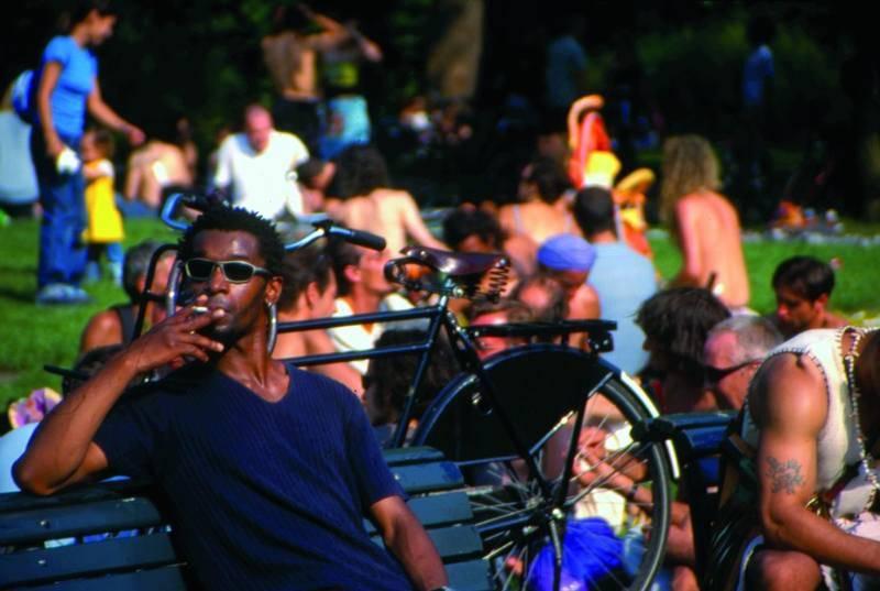 העיר מציעה תערובת אקלקטית של מהגרים ומקומיים. צילם: גיא נוימן