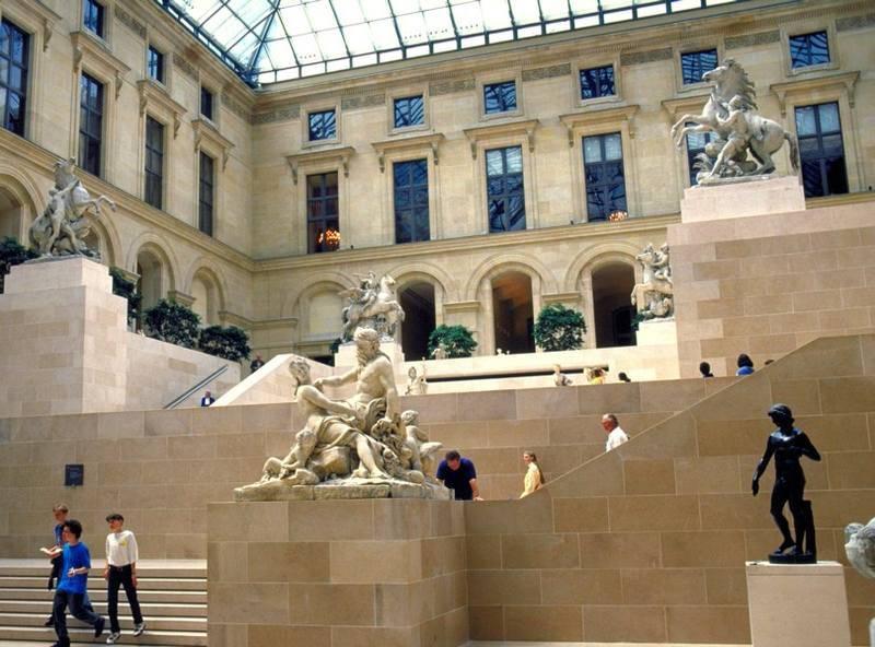 מוזיאון הלובר. צילום: Frédéric de La Mure / M.A.E.E