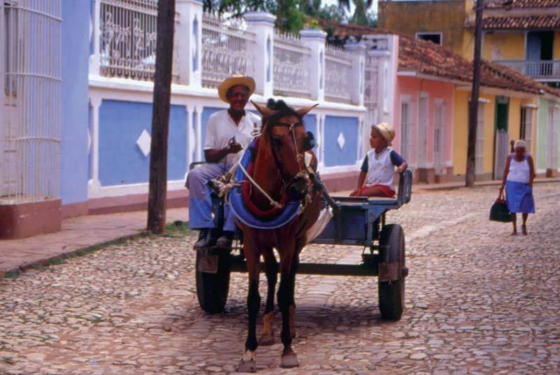 כלי תחבורה נפוץ בקובה. צילם: גיא נוימן