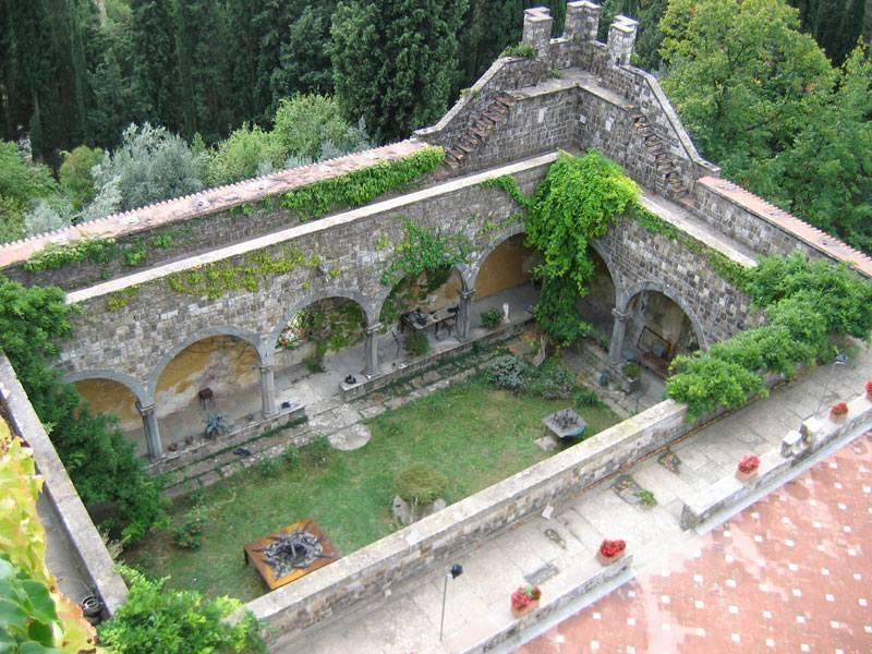 חצר המצודה. צילם: יונתן זייד