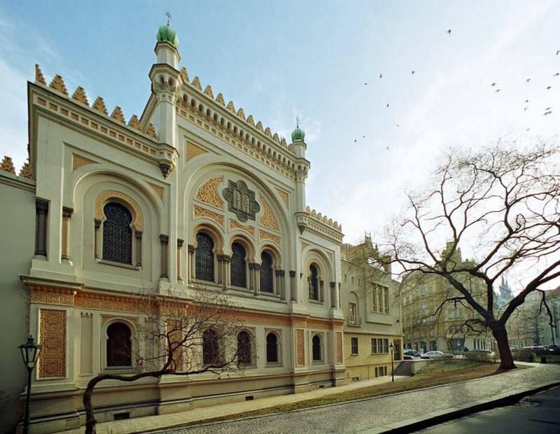 בית הכנסת הספרדי. צילום: Czech Tourism
