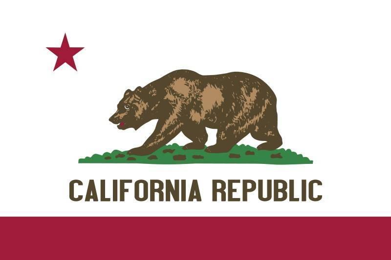 הלוגו הרשמי של מדינת קליפורניה