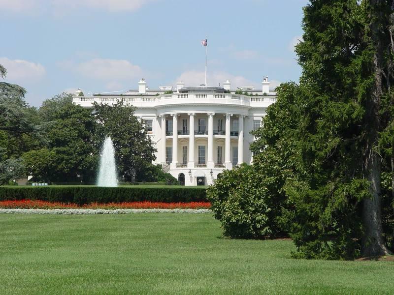 הבית הלבן בוושינגטון (צילום: סיגלית בר)