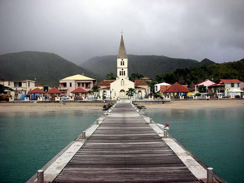 מרטיניק הוא האי המעניין ביותר מבחינה היסטורית באיים הדרומיים