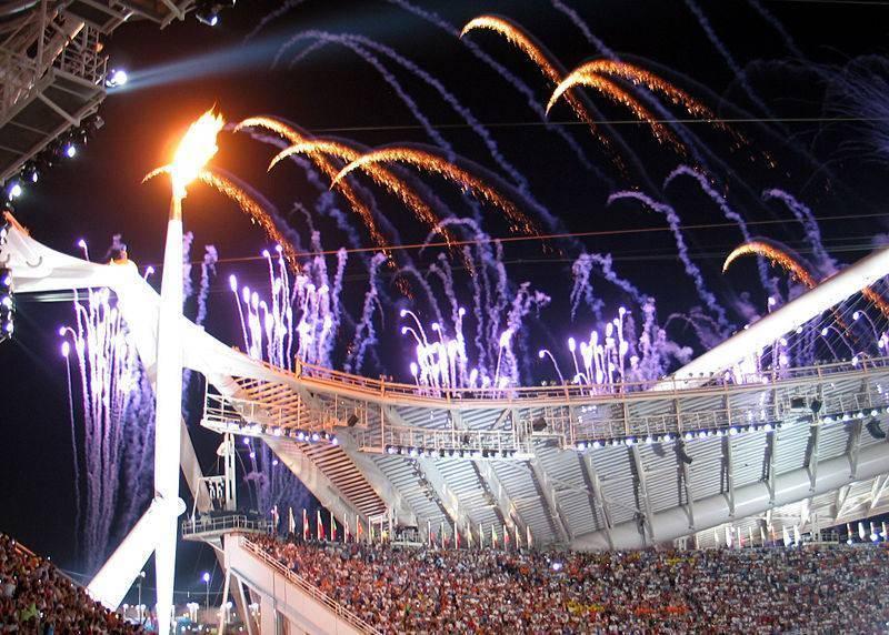 הלפיד האולימפי. צילום: Massimo Finizio, ויקיפדיה