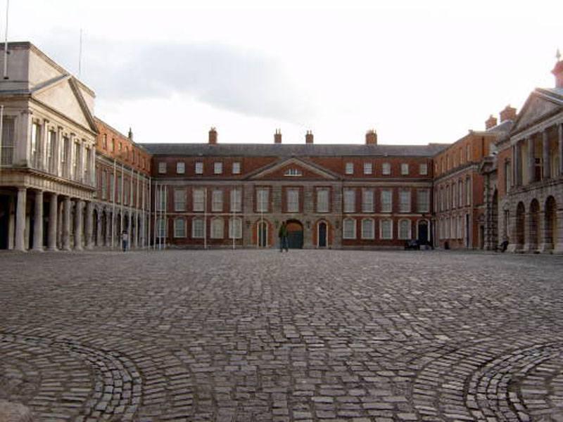 חצר המוזיאון הלאומי בדבלין. צילום: ויקיפדיה