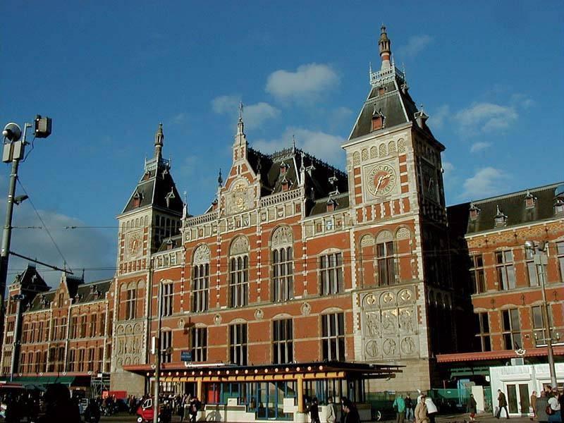 התחנה המרכזית של אמסטרדם. צילם: גיא נוימן