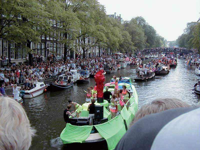 אמסטרדם. עיר שכולה תעלות. צילם: גיא נוימן