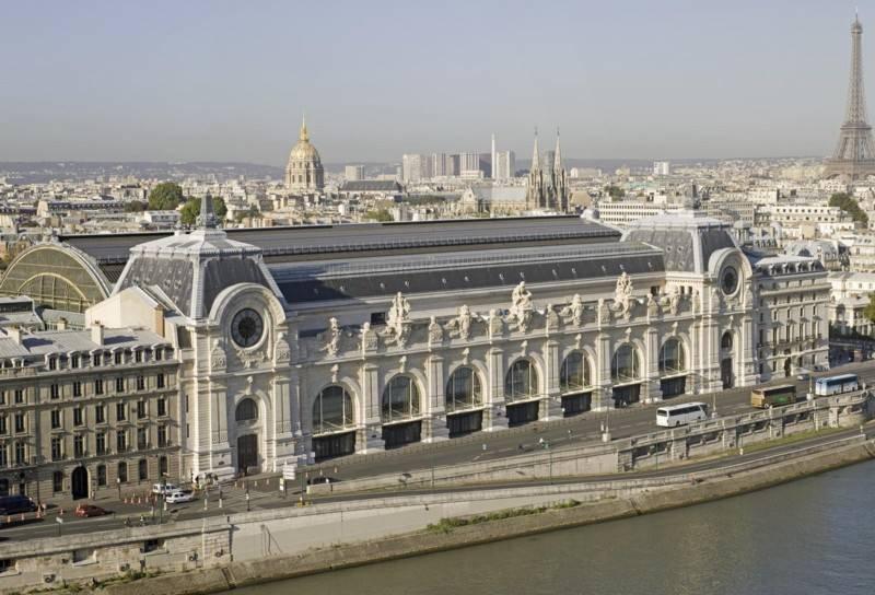 מוזיאון אורסיי שוכן במבנה ששימש כתחנת רכבת. צילום: Patrice Schmidt Paris - musée dOrsay