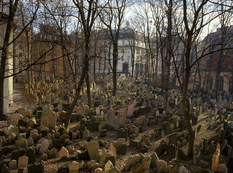 בית הקברות היהודי העתיק. צילום: Czech Tourism
