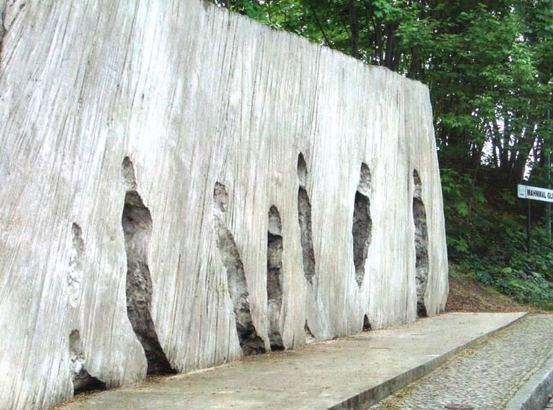אתר ההנצחה בתחנת גרינוולד, ממנה נשלחו יהודים למחנות הריכוז. צילם: גדי ויצטום