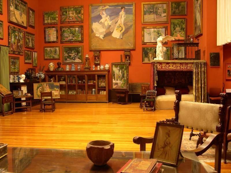 מוזיאון בבית האמן סורוליה. Museo Sorolla