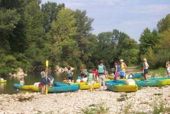 שיט בנהר ה-CEZE. צילום: האתר הרשמי