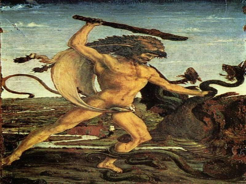 הרקולס, ציור: אנטוניו פולוניו, מאת: ויקיפדיה