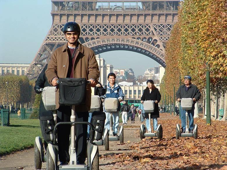 סיורים על סגוויי של חברת Fat Tire Bikes Tours. האופציה לתיירי ההיי-טק