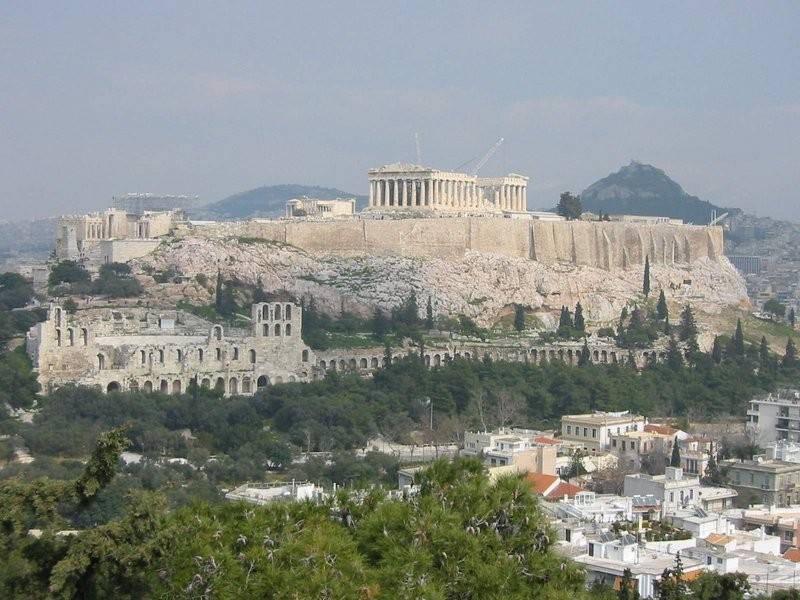 האקרופליס באתונה. צילום: ויקיפדיה