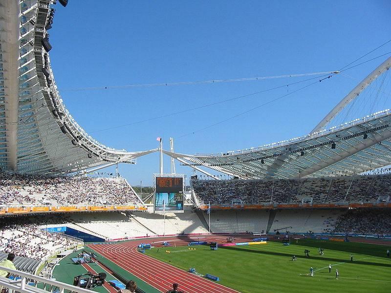 האיצטדיון האולימפי באתונה. צילום: Jannisch, ויקיפדיה