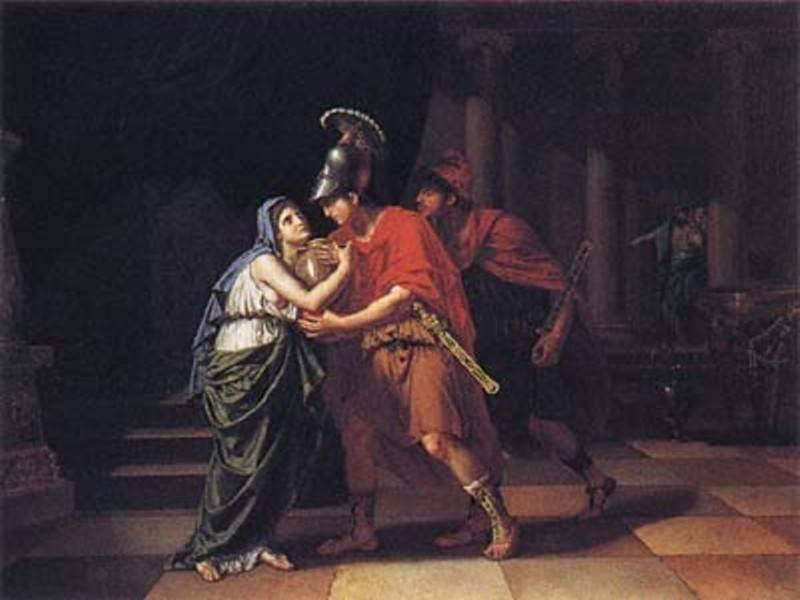 אלקטרה, בתו של אגמנון המלך היווני שנלחם בטרויה, מאת: ויקיפדיה