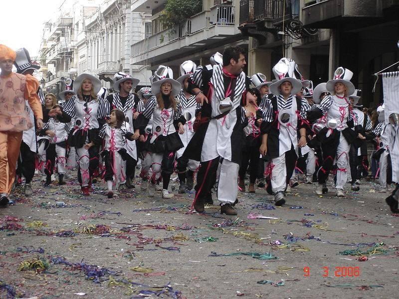 חגיגות יווניות, הקרנבל בפטרס 2008. צילום: ויקיפדיה