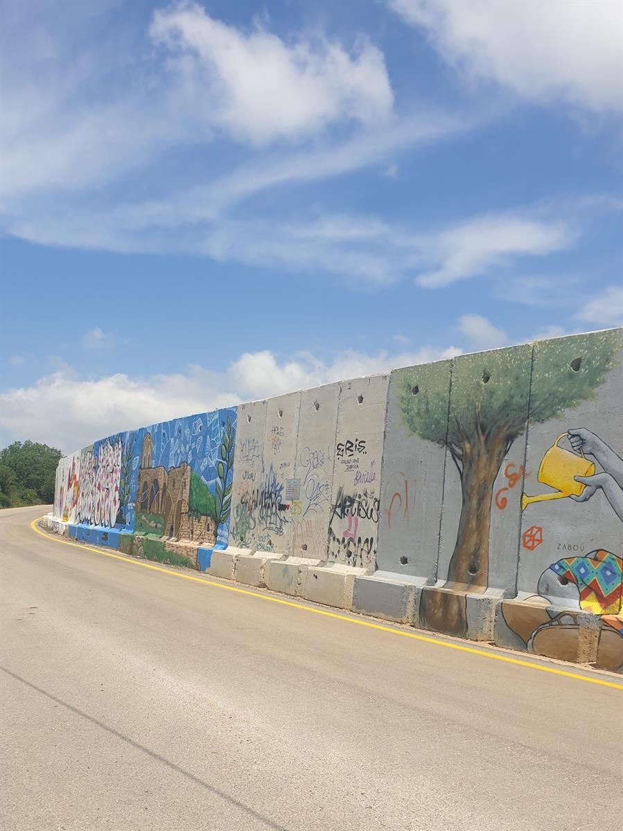 ציורי הקיר בגבול הצפון שתולה