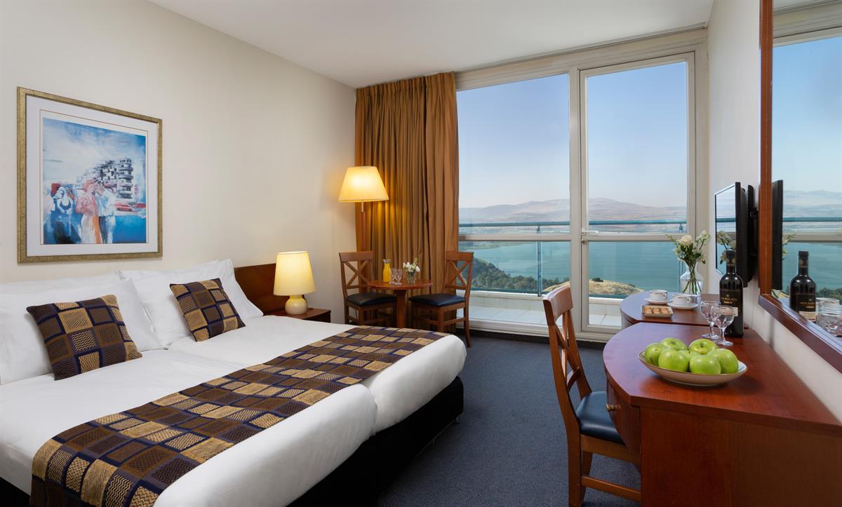 חדרים מרווחים עם נוף נפלא
