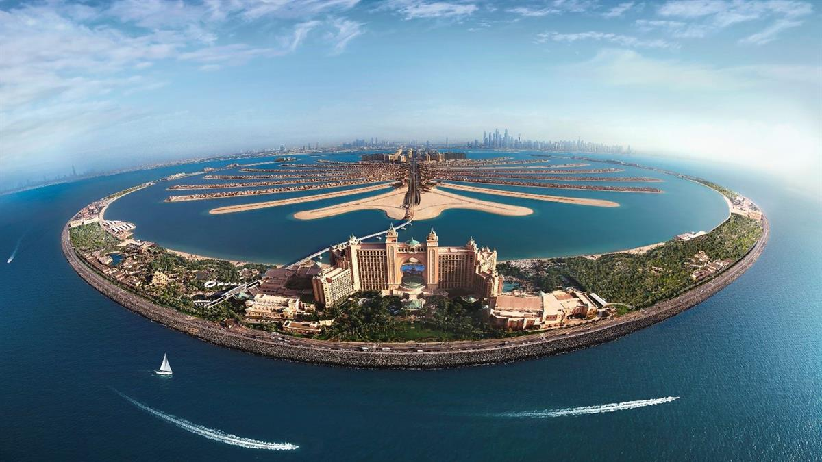 Plam_Jumeirah_Man_Made_Island