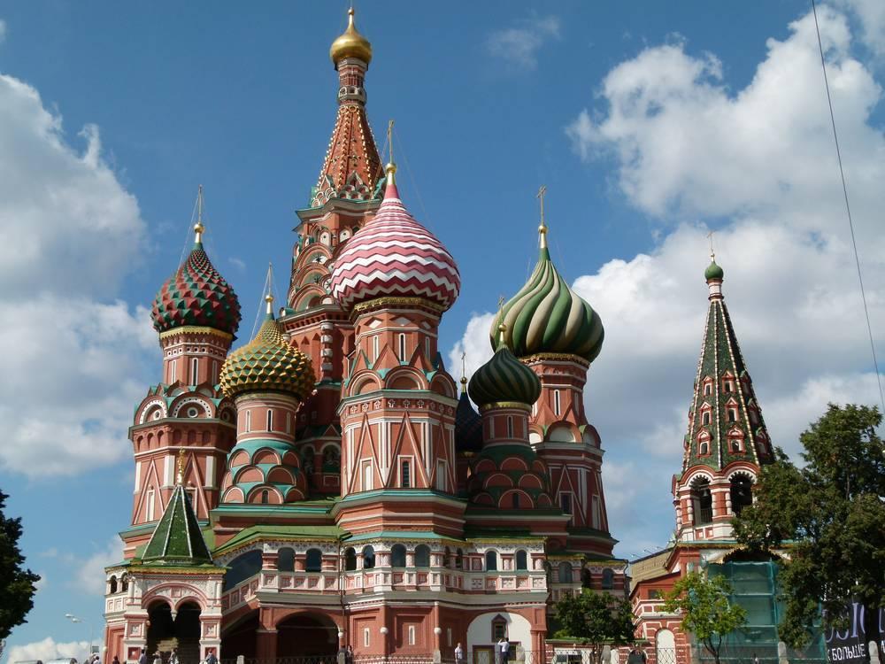 כנסיה בכיכר האדומה, מוסקבה צילום: הרצל אברהם
