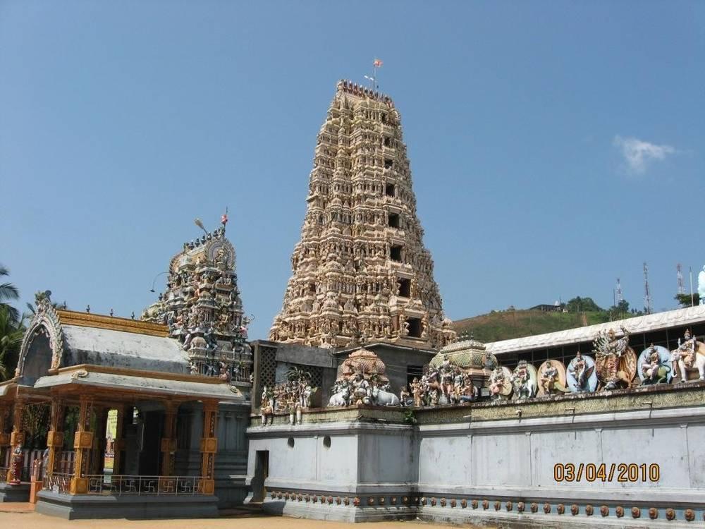 מקדש הינדו במטאלה,סרי לנקה,צולם על ידי אילן זיו