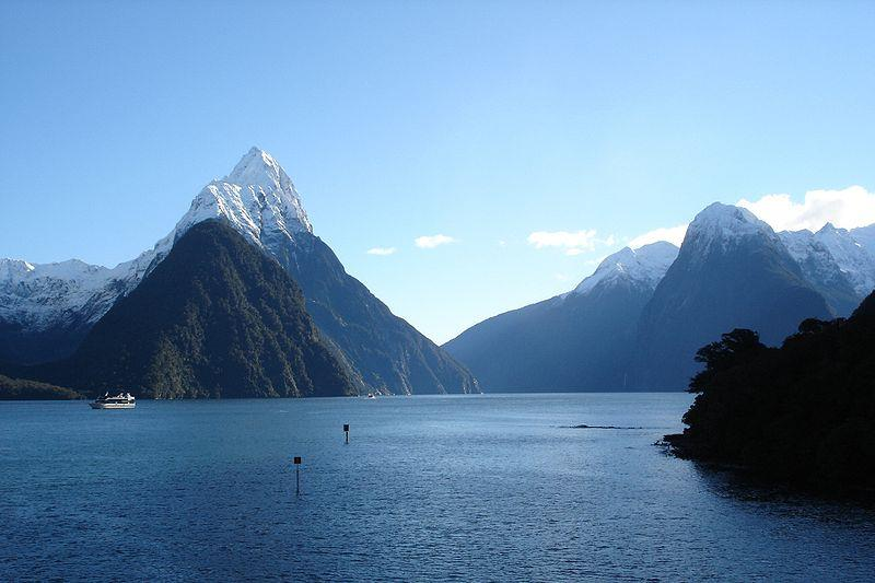 Milford Sound, New Zealand's most famous tourist destination