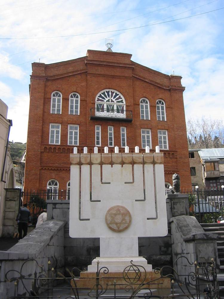טביליסי - חזית בית הכנסת הגדול