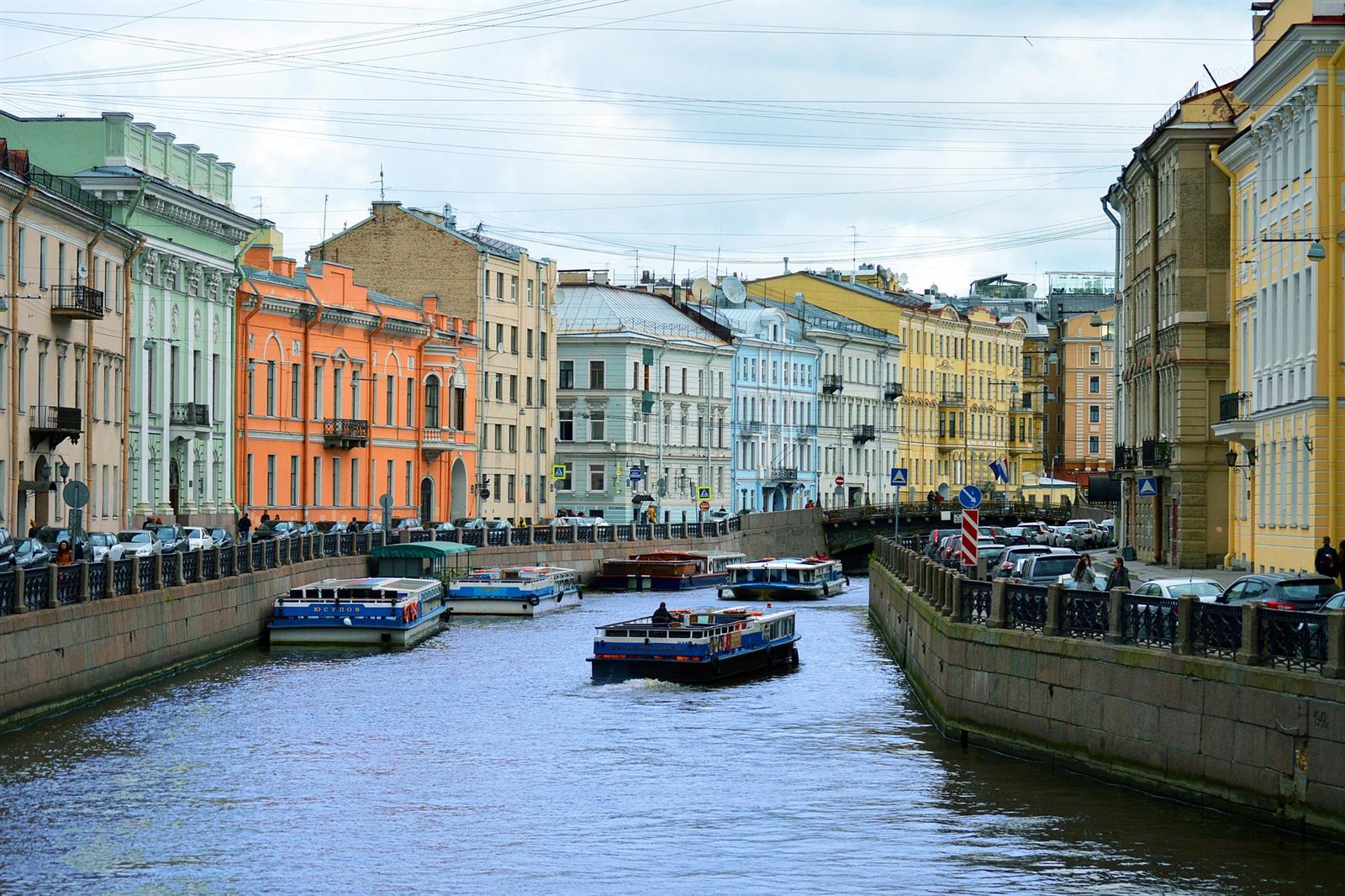 תעלה בסט. פטרסבורג (Pixabay)