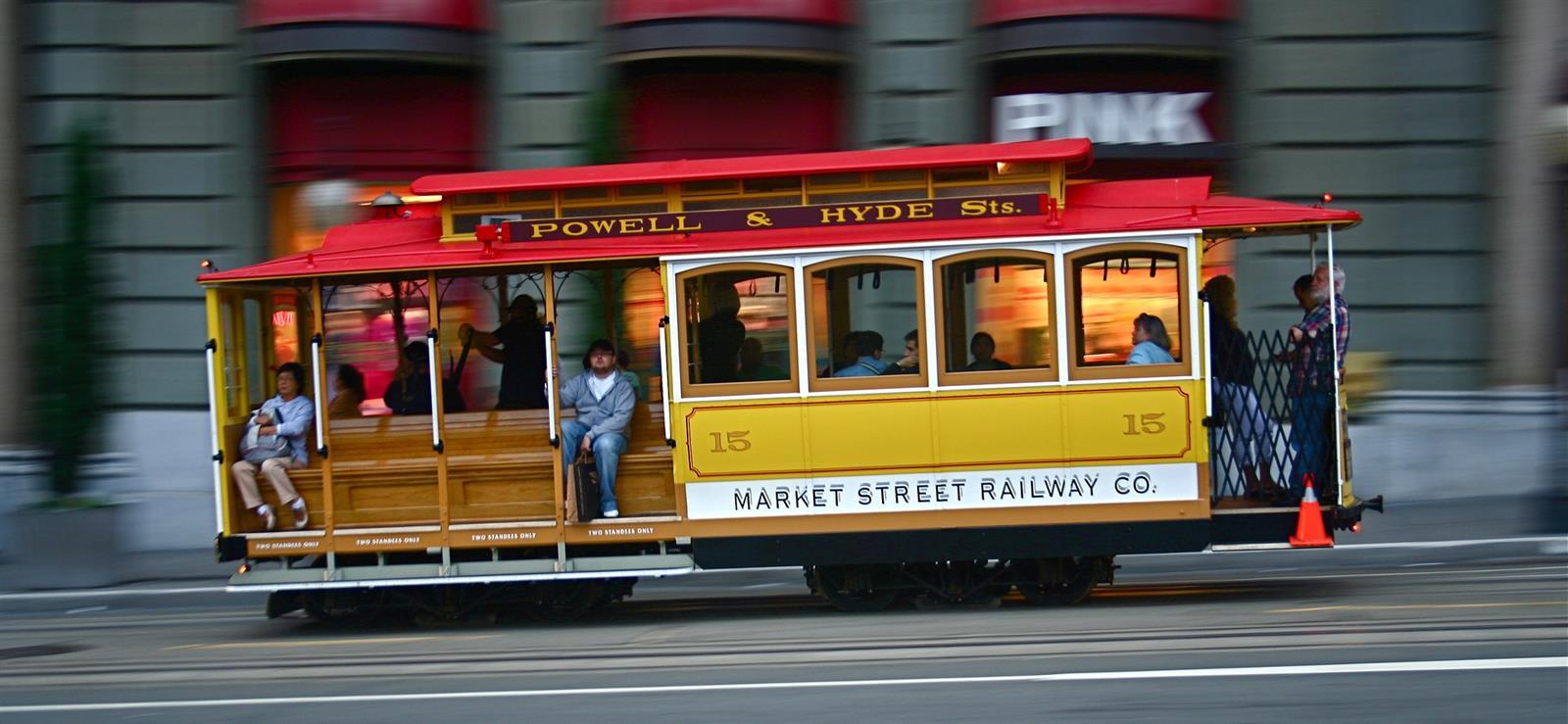 החשמלית בסן פנציסקו (Pixabay)