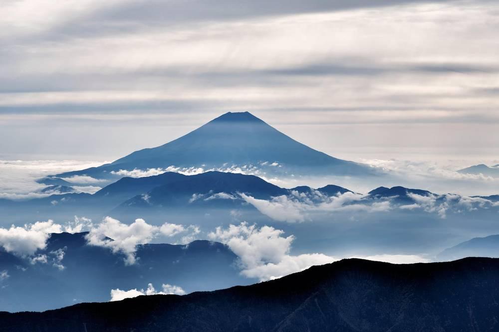 הר פוג'י.