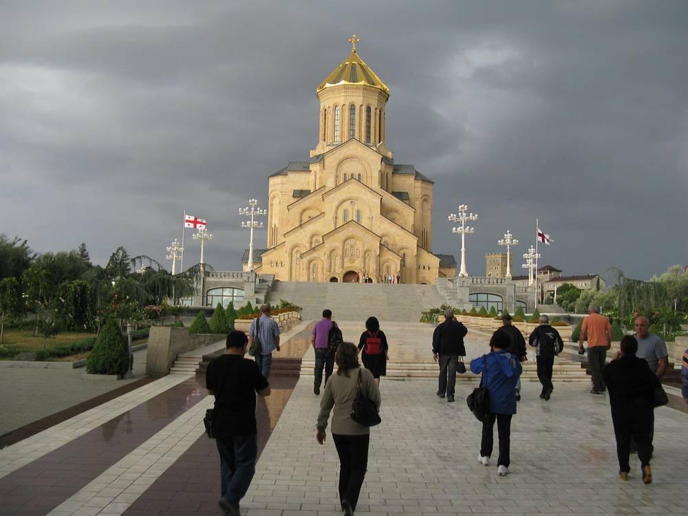 טביליסי - קתדרלת השילוש הקדוש
