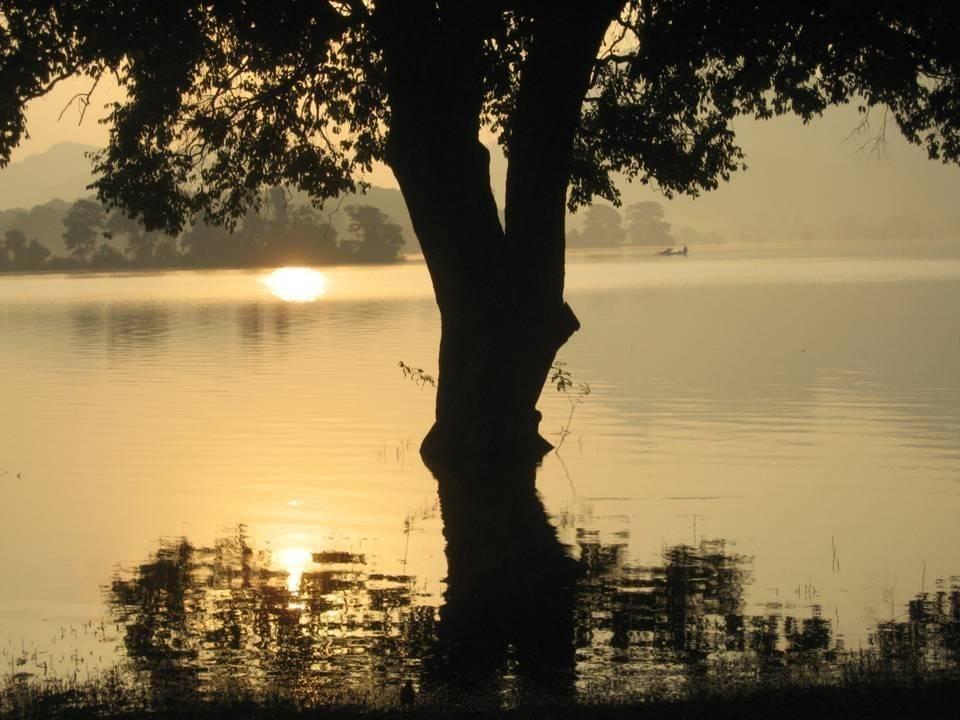 שקיעה בסרילנקה צילם: אילן זיו