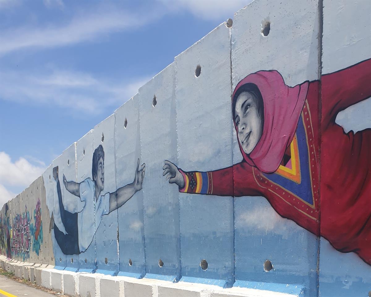 ציורי הקיר בגבול הצפון שתולהנ