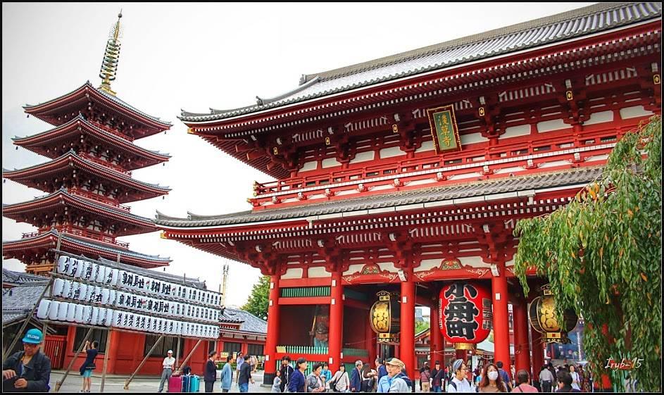 מקדש בודהיסטי, טוקיו  צילום: איגור ריבניקוב