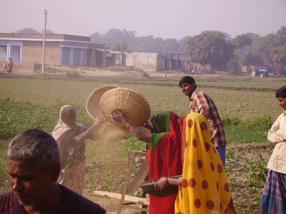 כפר בהודו, קרדיט תמונה: דוד זגורי