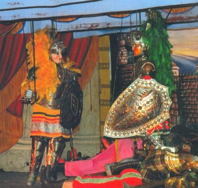 תיאטרון  פופי האחים מנקוזו,סיציליה, צולם על ידי שרה אלפסי