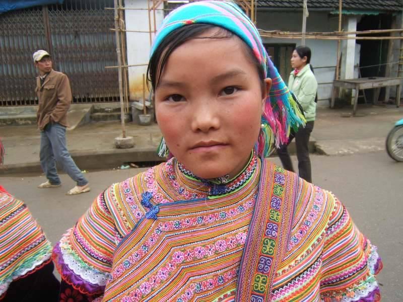 ילדה ויטנאמית
