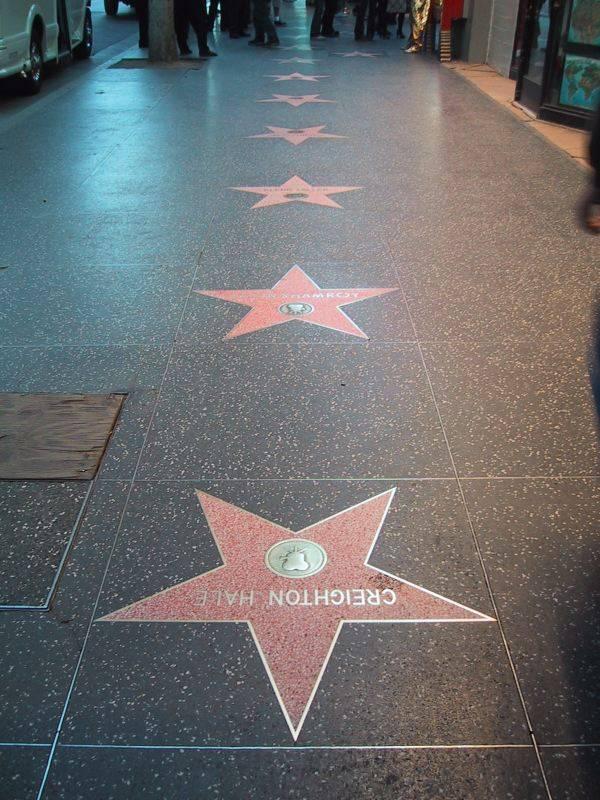 שדרת הכוכבים, הוליווד