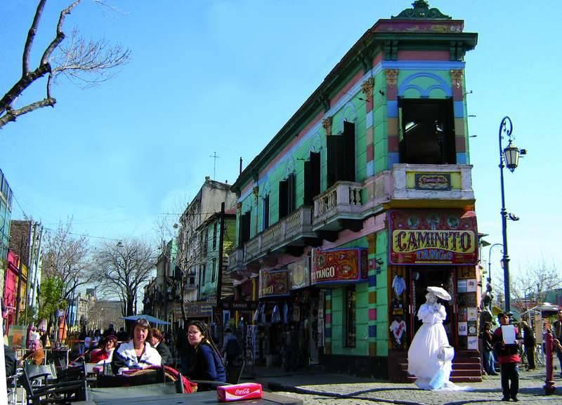 קמיניטו,ארגנטינה,צולם על ידי אילן שיינפלד